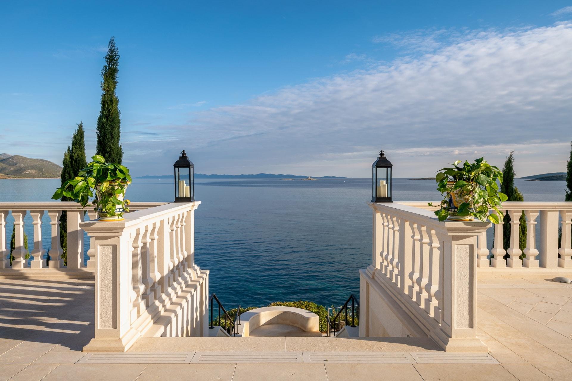Korta Katarina - Villa view
